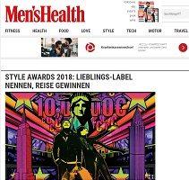 Style Awards 2018 Gewinnspiel, MensHealth Gewinnspiel