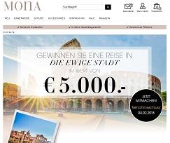 Rom Reise Gewinnspiel, Mona Gewinnspiel