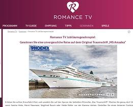 Norwegen Kreuzfahrt Gewinnspiel, Romance TV Gewinnspiel