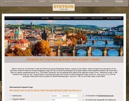Prag Reise Gewinnspiel, Stetson Gewinnspiel