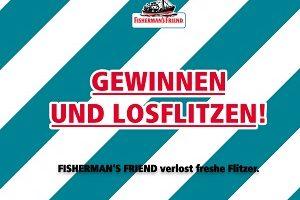 Smart Cabrio Gewinnspiel, Fisherman's Friend Gewinnspiel