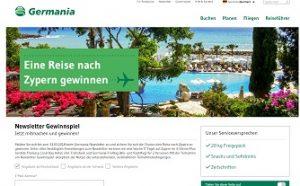 Zypern Reise Gewinnspiel, Germania Gewinnspiel