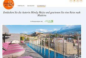 Madeira Reise Gewinnspiel, Goldmann Gewinnspiel