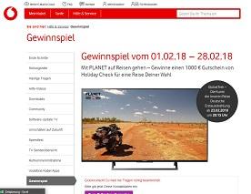 HolidayCheck Reisegutschein Gewinnspiel, Kabel Deutschland Gewinnspiel
