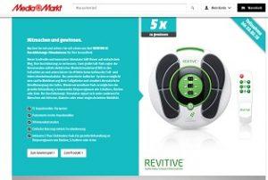 Revitive Durchblutungs-Stimulator Gewinnspiel, MediaMarkt Gewinnspiel