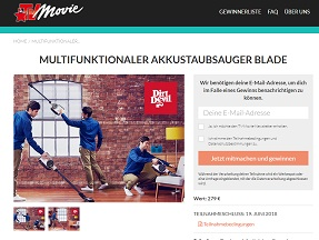 dirt devil staubsauger gewinnspiel gewinnspiele 2018. Black Bedroom Furniture Sets. Home Design Ideas