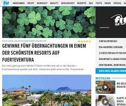 Fuerteventura Urlaub Gewinnspiel, fit For Fun Gewinnspiel