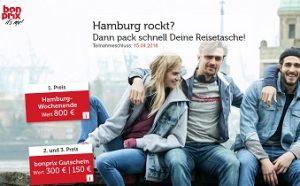 Hamburg Wochenend Reise Gewinnspiel, Bonprix Gewinnspiel