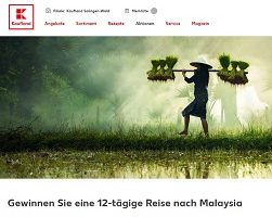 Malaysia Reise Gewinnspiel, Kaufland Gewinnspiel