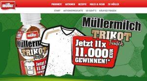 MÜLLERMILCH GEWINNSPIEL 50.000 EURO