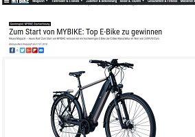 E-Bike Gewinnspiel, MyBike Gewinnspiel