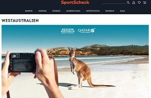 Australien Reise Gewinnspiel, SportScheck Gewinnspiel