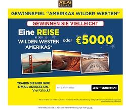 Amerikas Wilder Westen Gewinnspiel, Atlas for Men Gewinnspiel