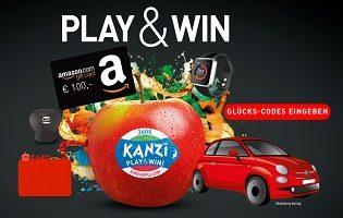Kanzi Play & Win Gewinnspiel, Kanzi Gewinnspiel