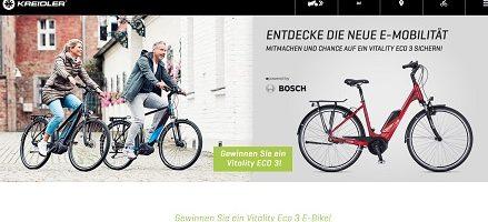 Kreidler E-Bike Gewinnspiel, Kreidler Gewinnspiel