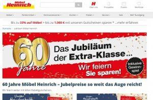 Möbel Heinrich Jubiläums-Gewinnspiel, Möbel Heinrich Gewinnspiel
