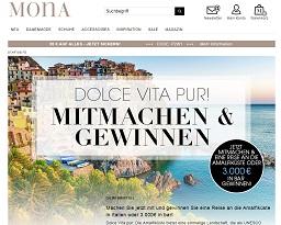 Mona Gewinnspiel Amalfiküste, Mona Gewinnspiel