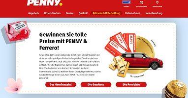 www.penny.de/ferrero, Penny Ferrero Gewinnspiel, Penny Gewinnspiel