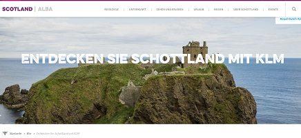 Schottland Kurz-Reise Gewinnspiel, Visit Scotland Gewinnspiel