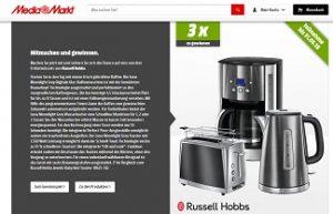 Russel Hobbs Frühstücks-Set Gewinnspiel, MediaMarkt Gewinnspiel