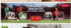 Manchester United Gewinnspiel, Melitta Gewinnspiel