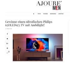 ajoure men gewinnspiel tv mit 65 zoll f r euro gewinnspiele 2018. Black Bedroom Furniture Sets. Home Design Ideas