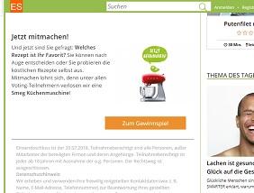 SMEG Küchenmaschine Gewinnspiel, EatSmarter Gewinnspiel