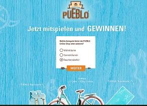 Cube E-Bike Gewinnspiel, Pueblo Gewinnspiel