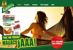 Sambalita Glückscode Gewinnspiel, Sambalita Gewinnspiel