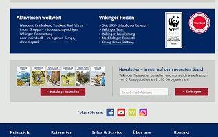 Wikinger Reisen Gutsschein Gewinnspiel, Wikinger Reisen Gewinnspiel