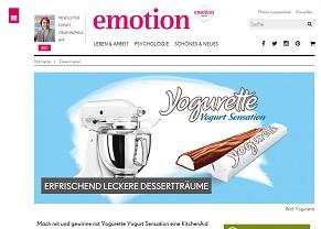 emotion gewinnspiel kitchenaid artisan gewinnspiele 2018. Black Bedroom Furniture Sets. Home Design Ideas