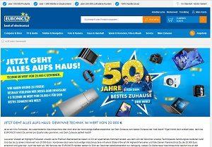 Euronics 50 Jahre Gewinnspiel, Euronics Gewinnspiel