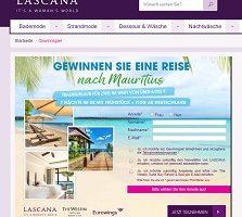Lascana Mauritius Gewinnspiel, Lascana Gewinnspiel