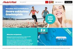 MediaMarkt Körperpflege und Fitness Gewinnspiel, MediaMarkt Gewinnspiel