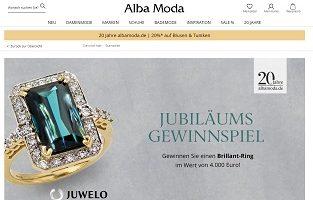 Brillant Ring Gewinnspiel, Alba Moda Gewinnspiel