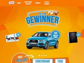 Ferrero Küsschen Code eingeben, Ferrero Aktionscode Gewinnspiel