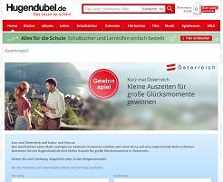 Österreich Urlaub Gewinnspiel, Hugendubel Gewinnspiel