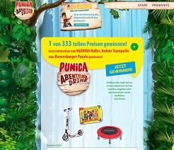 Punica Gewinn-Code Gewinnspiel, Punica Gewinnspiel