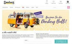 VW Bus Gewinnspiel, Deerberg Gewinnspiel