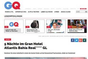 Fuerteventura Urlaub Gewinnspiel, GQ Gewinnspiel