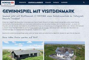 Dänemark Ferienhaus Gutschein Gewinnspiel, Nordsee Gewinnspiel