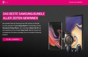 Telekom Samsung Gewinnspiel, Telekom Gewinnspiel