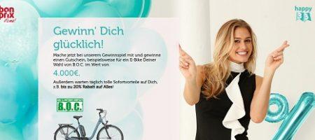 B.O.C E-Bike Gutschein Gewinnspiel, Bonprix Gewinnspiel