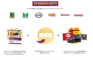 Esso Glücks-Code, Staples Glücks-Code, Edeka Glücks-Code, Marktkauf Glückscode Gewinnspiel, deutschlandcard.de/lohntsich, netto-online.de/glueck, Deutschlandcard Gewinnspiel