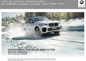 BMW X5 Gewinnspiel, BMW Gewinnspiel