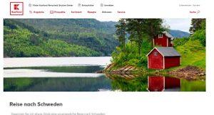 Schweden Reise Gewinnspiel, Kaufland Gewinnspiel