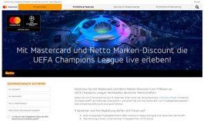Mastercard de Netto Gewinnspiel, Mastercard Gewinnspiel
