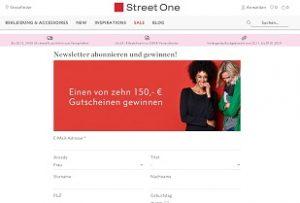 Street One Gutschein Gewinnspiel, Street One Gewinnspiel