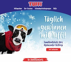 Mit Tuffi gewinnen, Tuffi Gewinnspiel