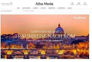 Rom Reise Gewinnspiel, Alba Moda Gewinnspiel